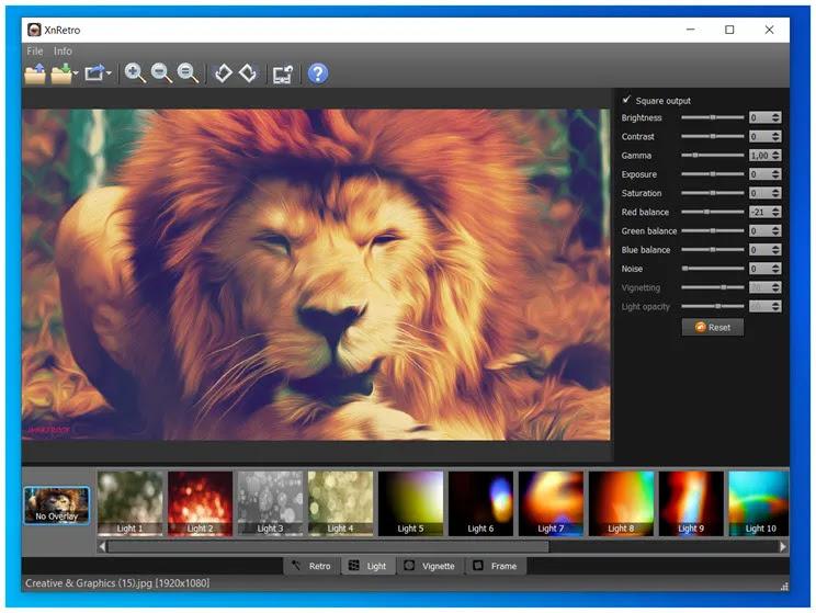 XnRetro : Δημιουργήστε  καλλιτεχνικές φωτογραφίες