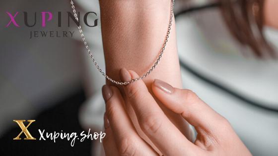 Купить цепи Xuping Jewelry в интернет-магазине Xuping.shop. Цепи позолота. Медицинское золото. Ювелирная бижутерия Хьюпинг.
