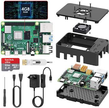 TICTID Raspberry Pi 4 Modelo B (4 GB RAM)