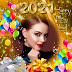 Happy New Year 2021 Photo Frame