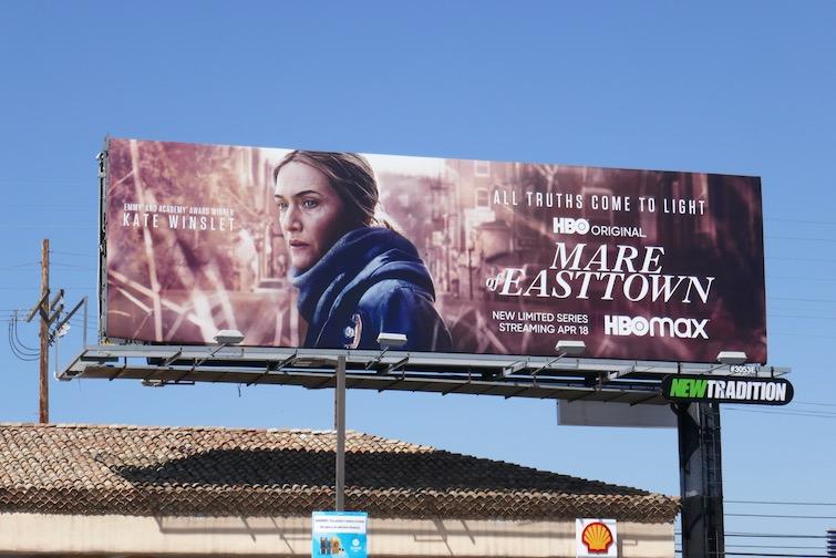 Mare of Easttown HBO series billboard
