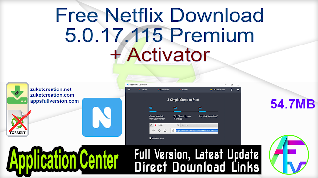 Free Netflix Download 5.0.17.115 Premium + Activator