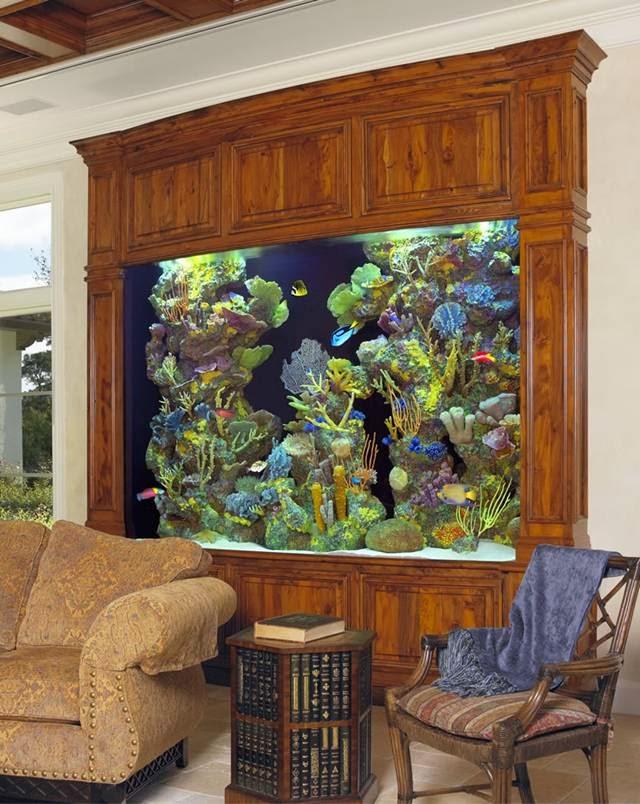 Recipes,Interior Home Design : Amazing Home Aquariums Design Ideas