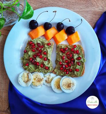 Easy Avocado toast recipe
