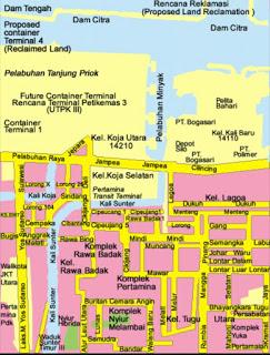 Service Area Jakarta Utara
