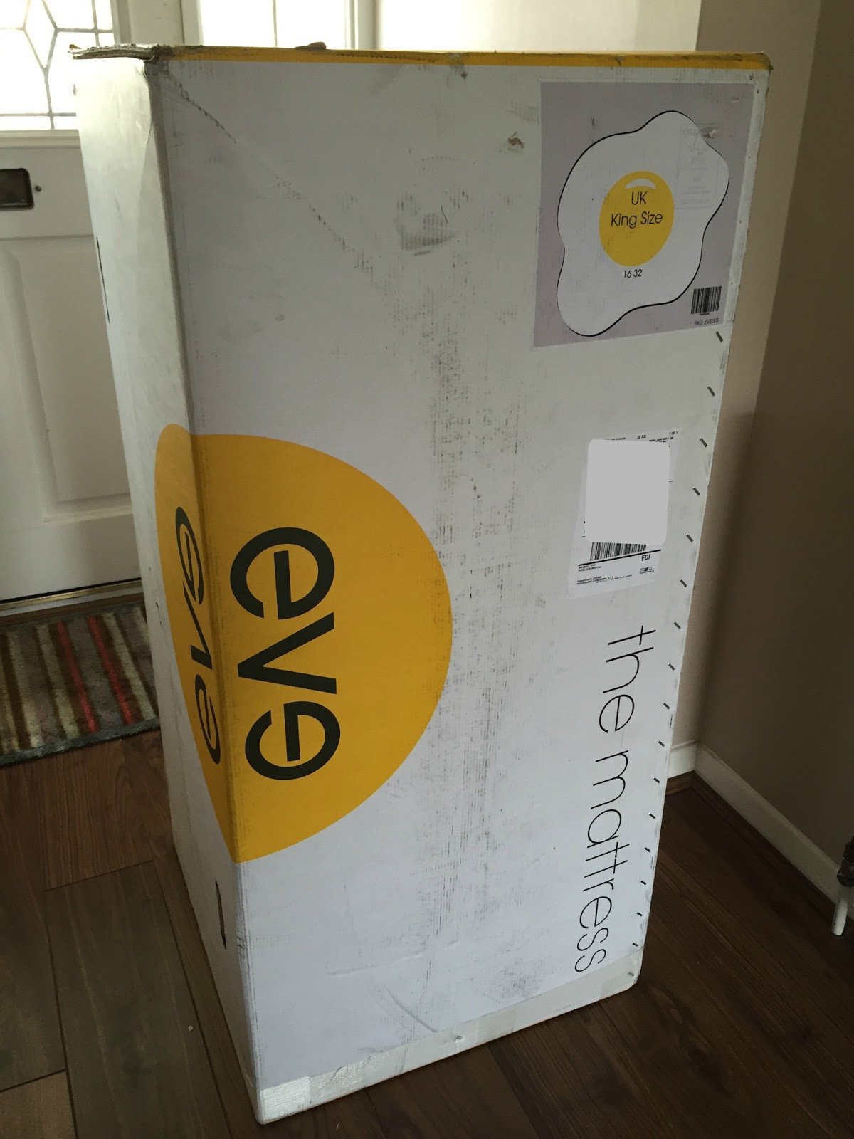 eve mattress unboxing and review steph 39 s two girls. Black Bedroom Furniture Sets. Home Design Ideas