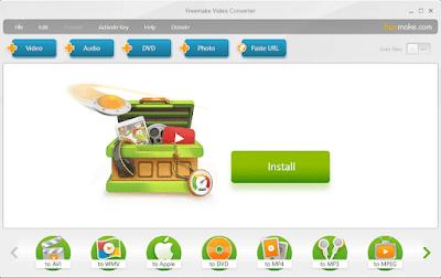تحميل برنامج Freemake Video Converter