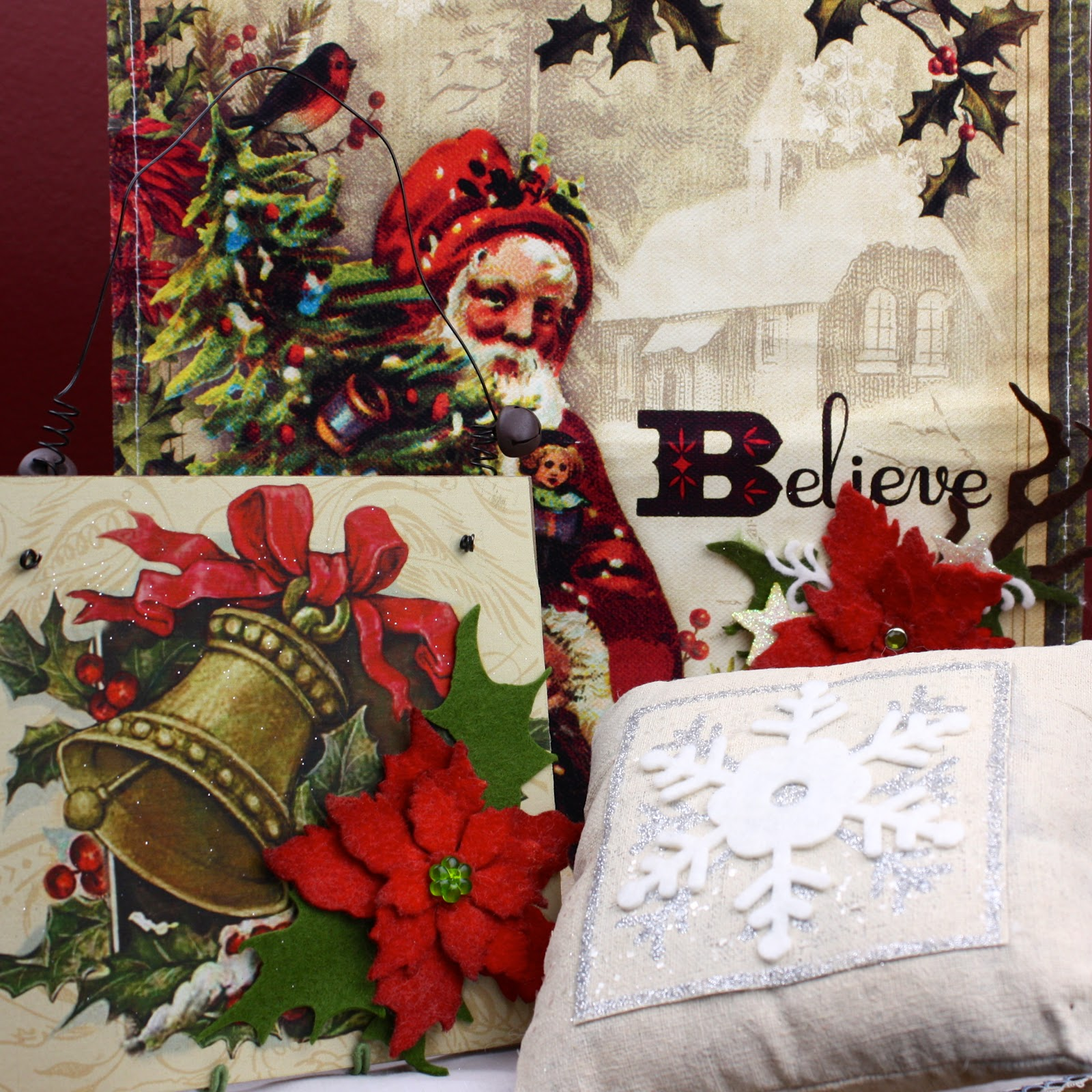 Sizzix Die Cutting Inspiration And Tips: Christmas