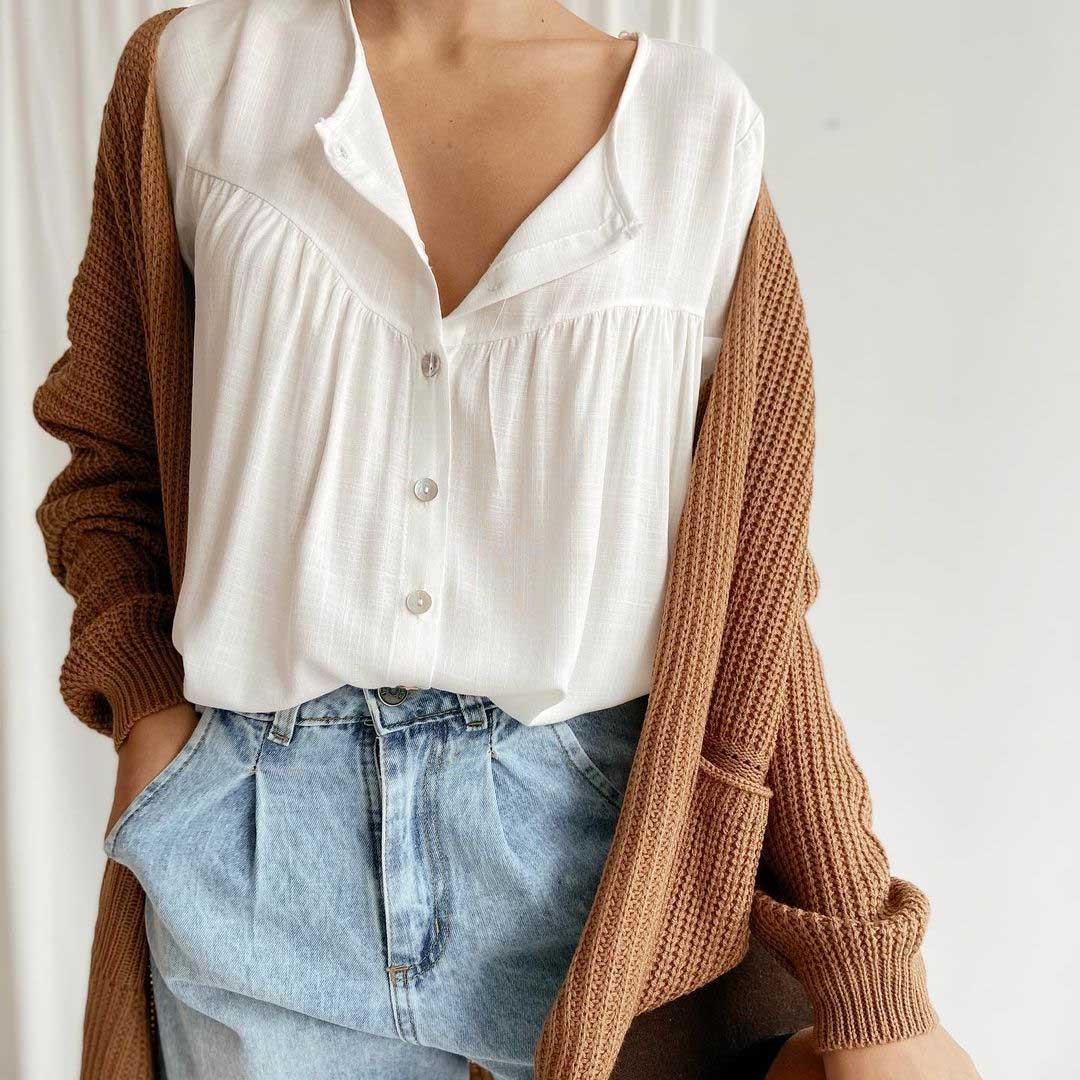 camisas de moda mujer invierno 2021