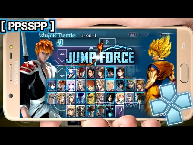 New Jump Force MOD For Android PPSSPP Emulator Download
