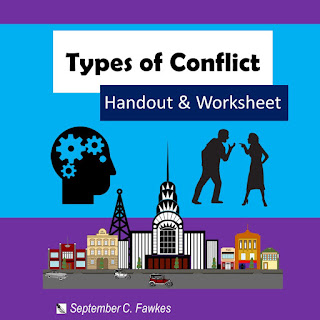 https://www.teacherspayteachers.com/Product/7-Types-of-Conflict-Handout-Worksheet-Exercise-Distance-Learning-5333974