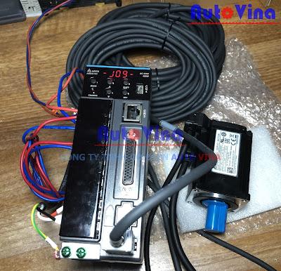 Hướng dẫn JOG trial run without load Servo Delta ASD-B3-0421-L