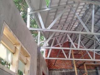 Rangka atap baja ringan terpancung