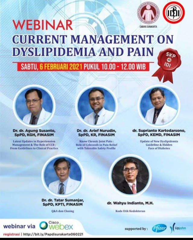 Free SKP IDI Webinar  Current Management on Dyslipidemia and Pain