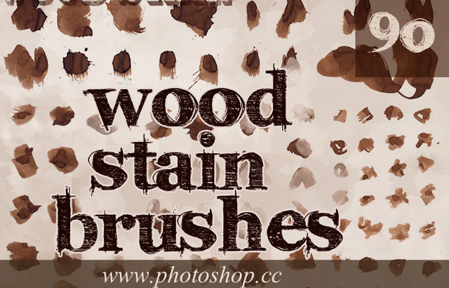 New Wood Stain Splatters