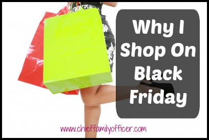 Why I Shop on Black Friday | Chief Family Officer
