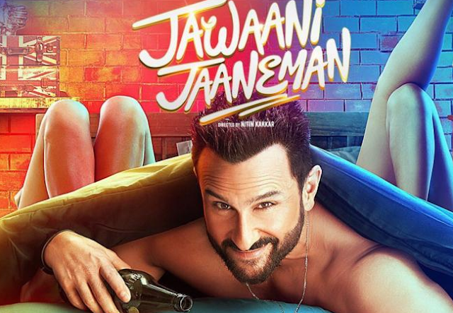 Saif Ali Khan, Jawaani Jaaneman Movie Review, Alaia Furniturewalla, tabu, Nitin Kakkar