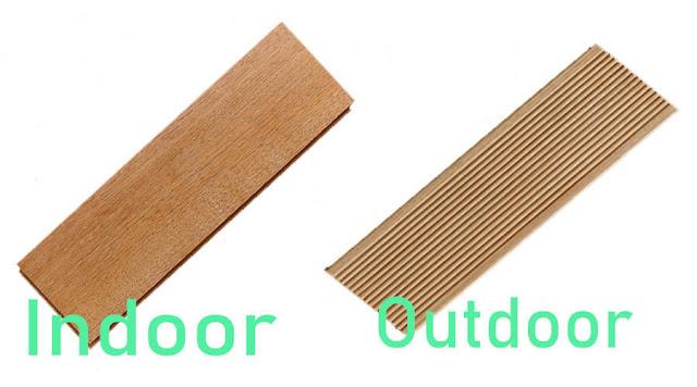 perbedaan lantai kayu Indoor dan outdoor