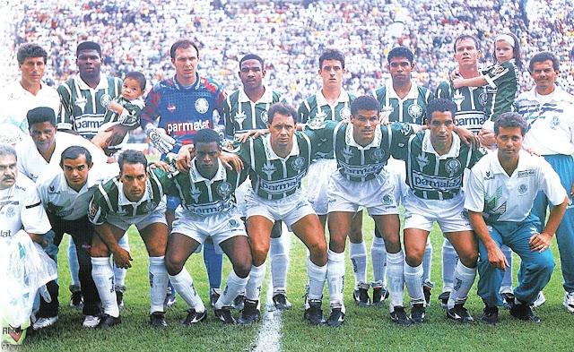 Palmeiras conquistou o oitavo título nacional em 1994.