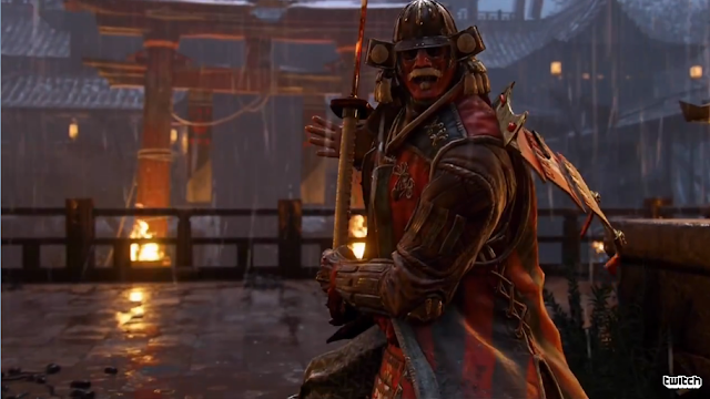 For Honor boss battle Japanese samurai Shogun Ubisoft E3 2016