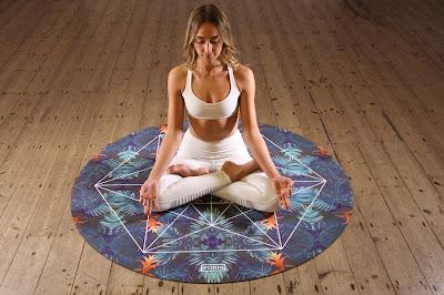 Photo of yogi with eyes closed by Form on Unsplash