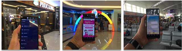 Hình ảnh wifi marketing tại địa điểm