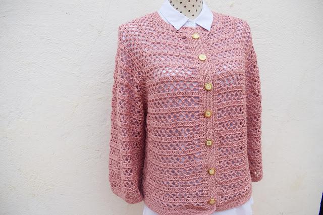6 - Crochet Imagenes Chaqueta primavera a crochet y ganchillo por Majovel Crochet