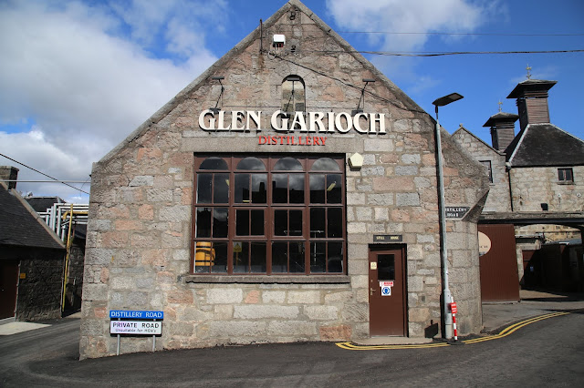 Glen Garoich whisky  distillery, Aberdeenshire, pic:Kerstin Rodgers/msmarmitelover.com