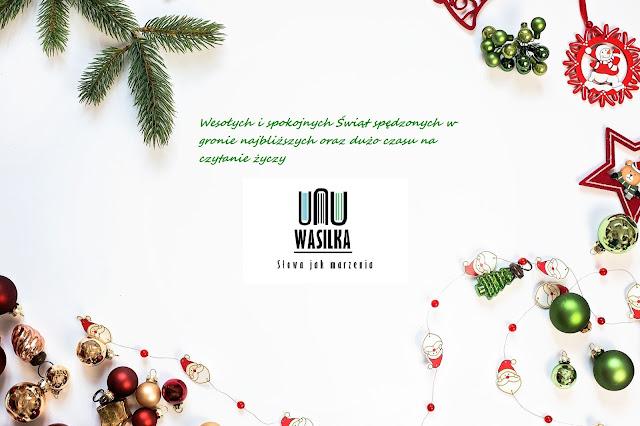 Wasilka życzy zaczytanych i spokojnych Świąt :-)
