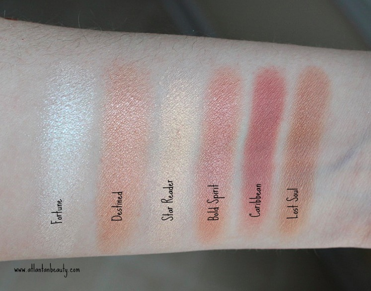 Lorac's Pirates of the Caribbean Cheek Palette