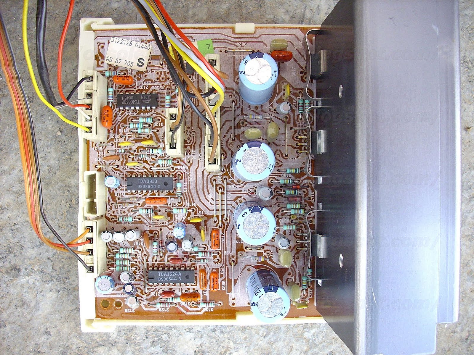 Obsolete Technology Tellye Phonola Philips 59ks6509 08r 506 X 331 250 Kb Jpeg How To Wire A Gfci Circuit View 8204 004 04271 Citac Control Unit With Sab3035 Computer Interface For Tuning And