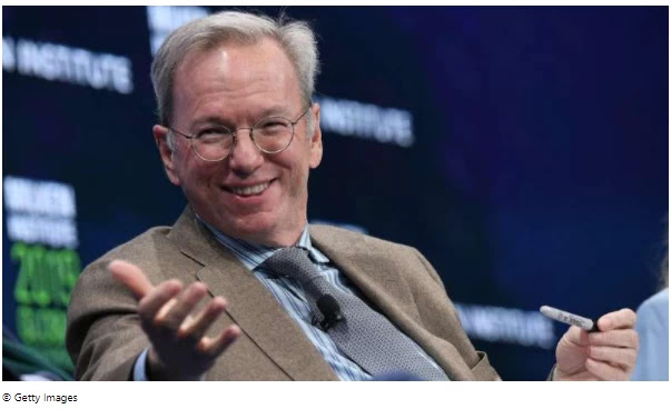 Former Google boss: The United States 'dropped the ball' on innovation