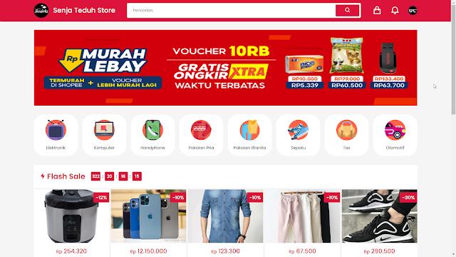 Script Web Toko Online Midtrans Rajaongkir