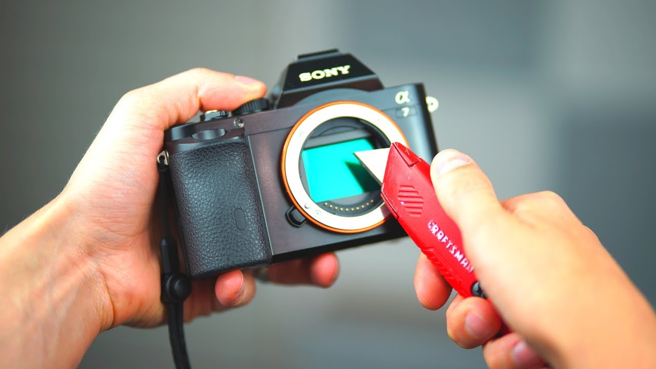 How Scratch-Proof is a Sony Mirrorless Sensor