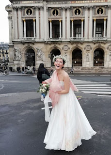 la mariée de l'Opéra