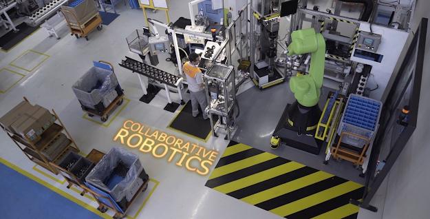 Celda robotizada bimanual para montaje de componentes asistidos por Inteligencia Artificial