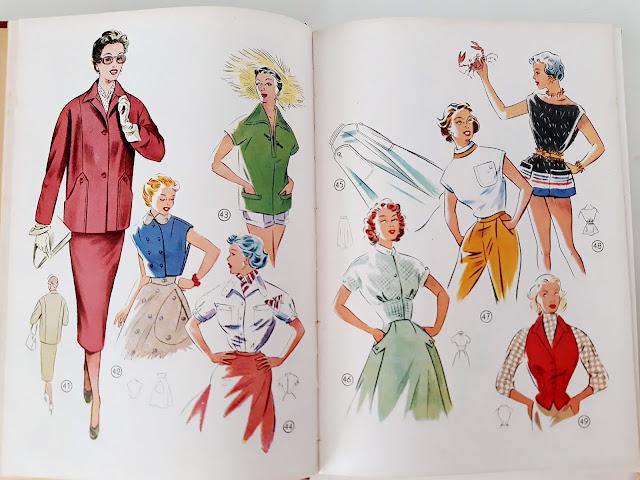vestidos anos 50