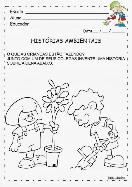 Educar X Atividades Meio Ambiente Educacao Infantil