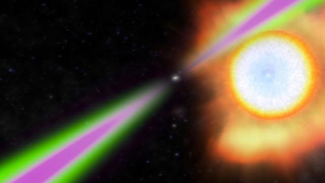 Astrónomos descubren rayos gamma emitidos por un púlsar que rota 707 veces por segundo