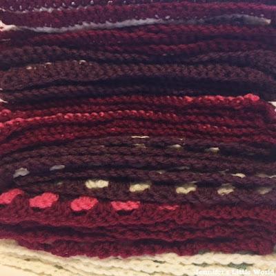 Patons Afghan blanket crochet along