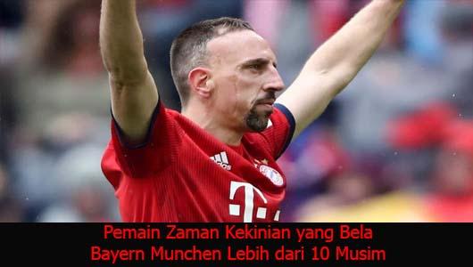 Pemain Zaman Kekinian yang Bela Bayern Munchen Lebih dari 10 Musim