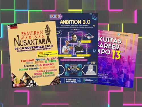 Jadwal event Bandung November 2019