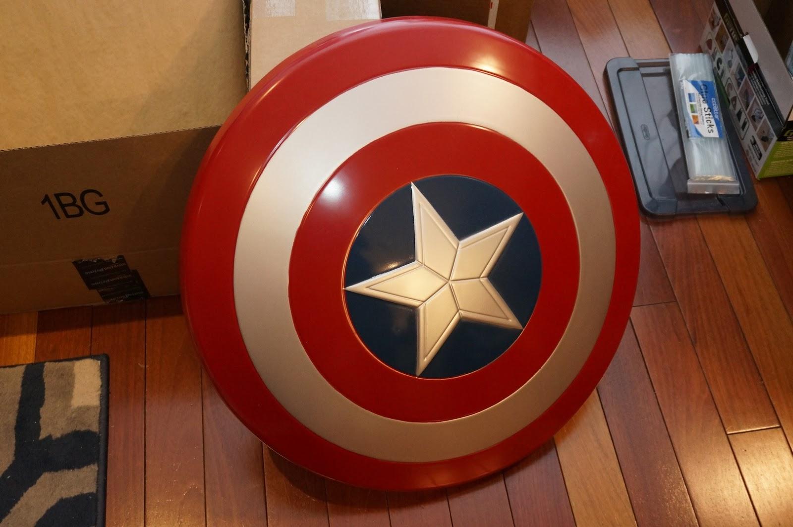 Nerdy Views Captain America Shield Project