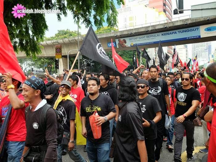 Anak Muda di Himpunan Bantah GST
