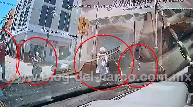Vídeo dentro patrulla en Guadalupe; Zacatecas muestra como los Policías viven un ataque de Sicarios