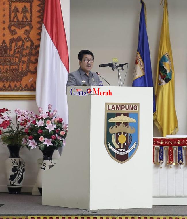 Ajukan Empat Raperda, Pemprov Lampung Sodorkan  Perubahan Perda RTRW