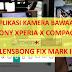 Cara Menggunakan Lensbong Fix dan Tele pada Aplikasi Kamera Bawaan Sony Xperia X Compact
