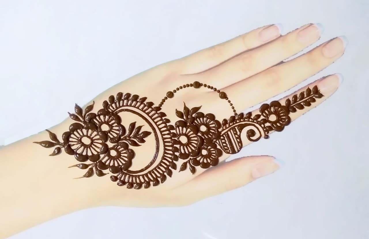 mehndi tattoo for girls