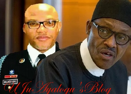 Nnamdi Kanu Lied On Buhari Being A Clone - Ohanaeze Faults IPOB Leader
