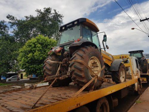 Itumbiara: Suspeito de receptar tratores furtados é preso